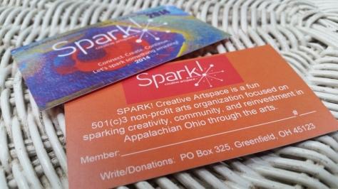 Spark membership cards (2)